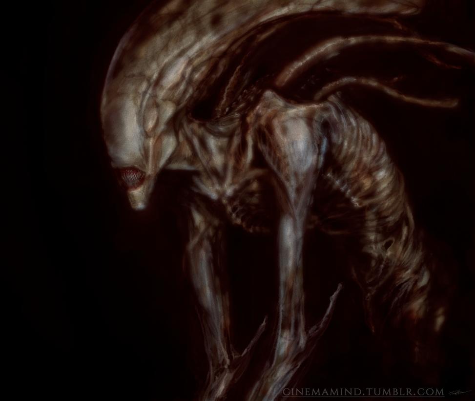Alien by cinemamind