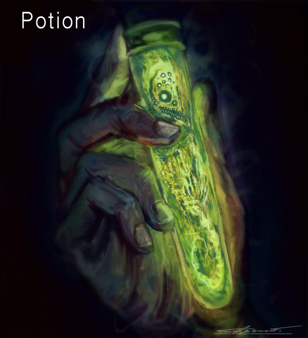 Potion by cinemamind
