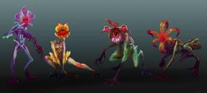 Flower Demogorgons