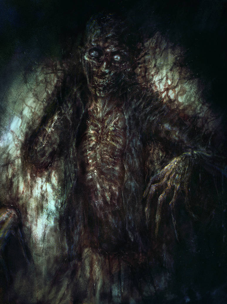 SCP-106 The Old Man by cinemamind