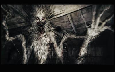 Twisty Armed Werewolf