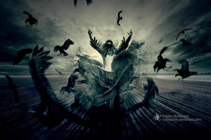 Raven Spirit by DipikaMathoora