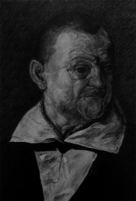 Another semi-succesful Caravaggio study