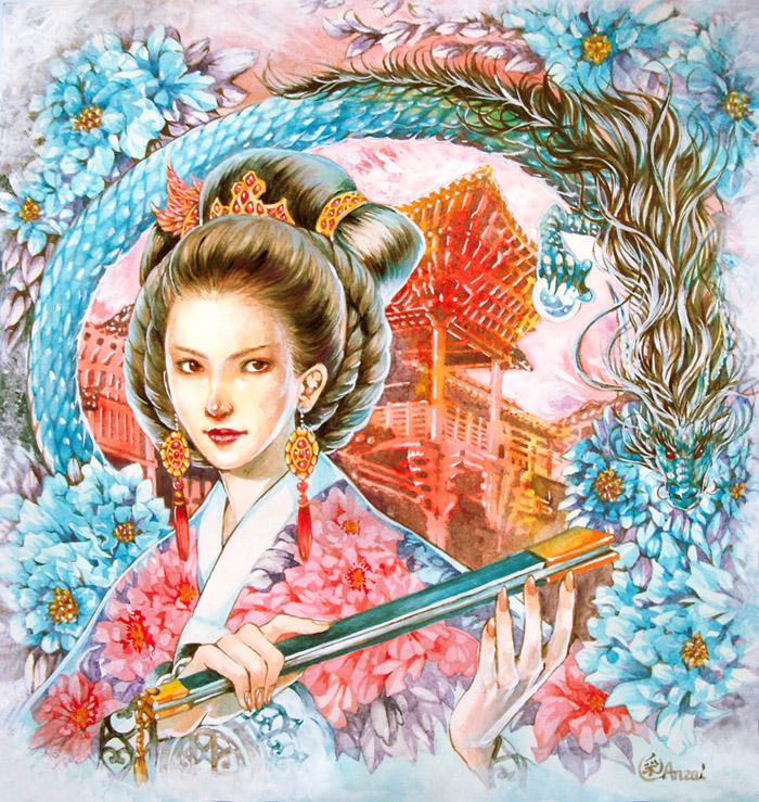 Queen by anzaisachie