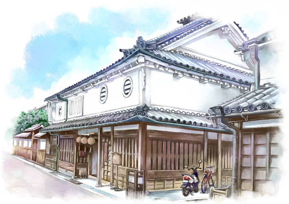 Old house it is the history of japan by anzaisachie on for Classic japanese house design