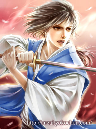 Swordsman by anzaisachie