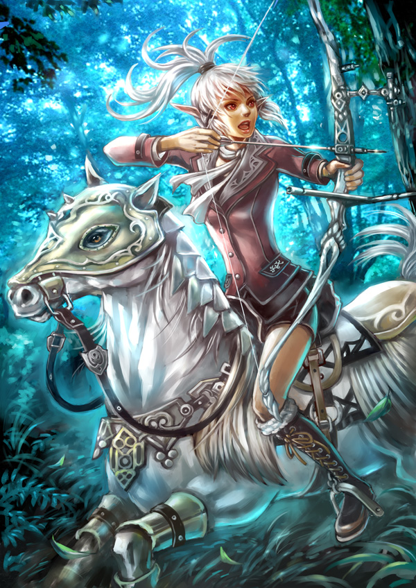 Archer by anzaisachie