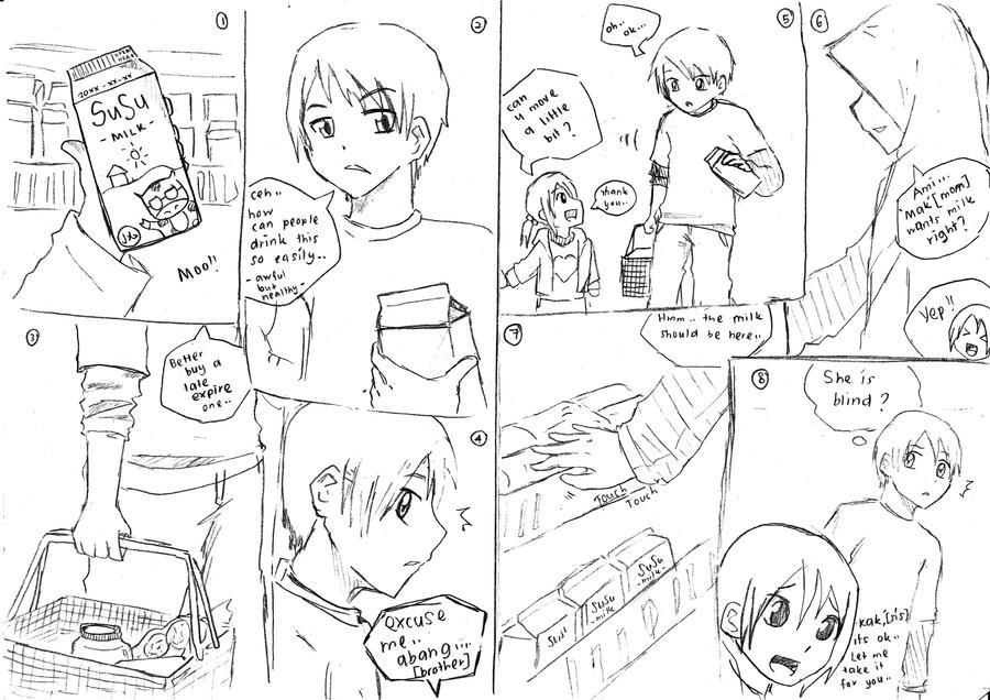 A Story When Buying Milk By Ichi Iltea15