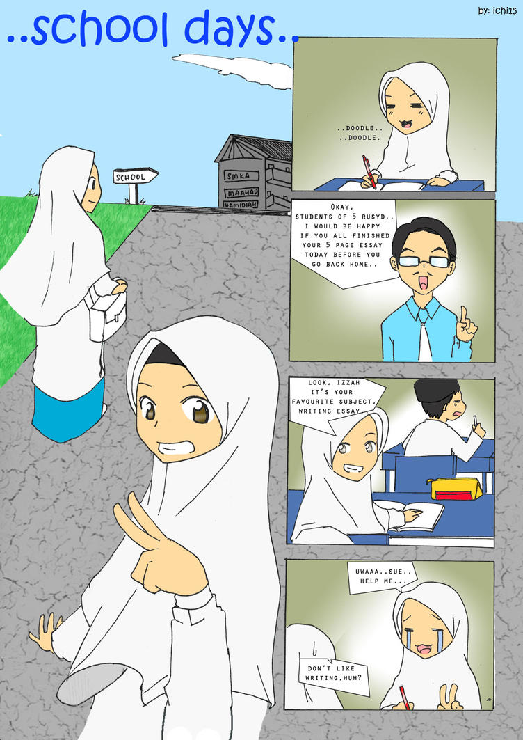 school days comic strip by ichi iltea on school days comic strip 1 by ichi iltea15
