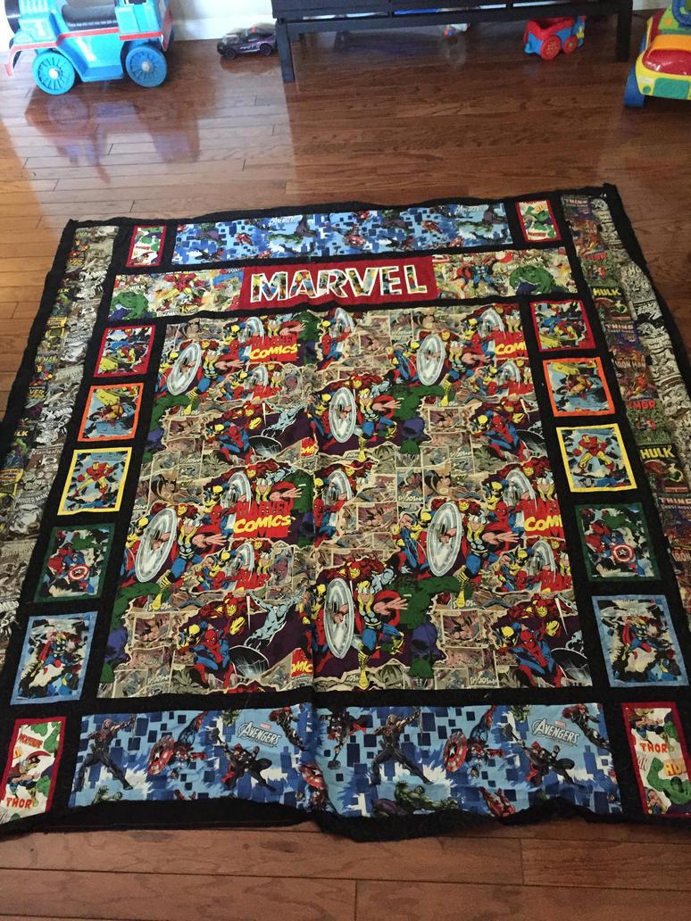 marvel quilt by soie-yoie on DeviantArt : marvel quilt - Adamdwight.com