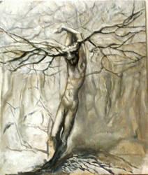 Loki - dormant winter tree by Acshren