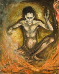 Loki - shaman by Acshren