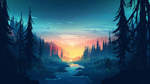 4K Forest Wallpaper