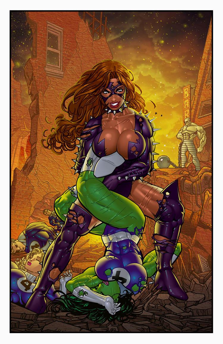 Titania's Fantastic 4 by SinDD