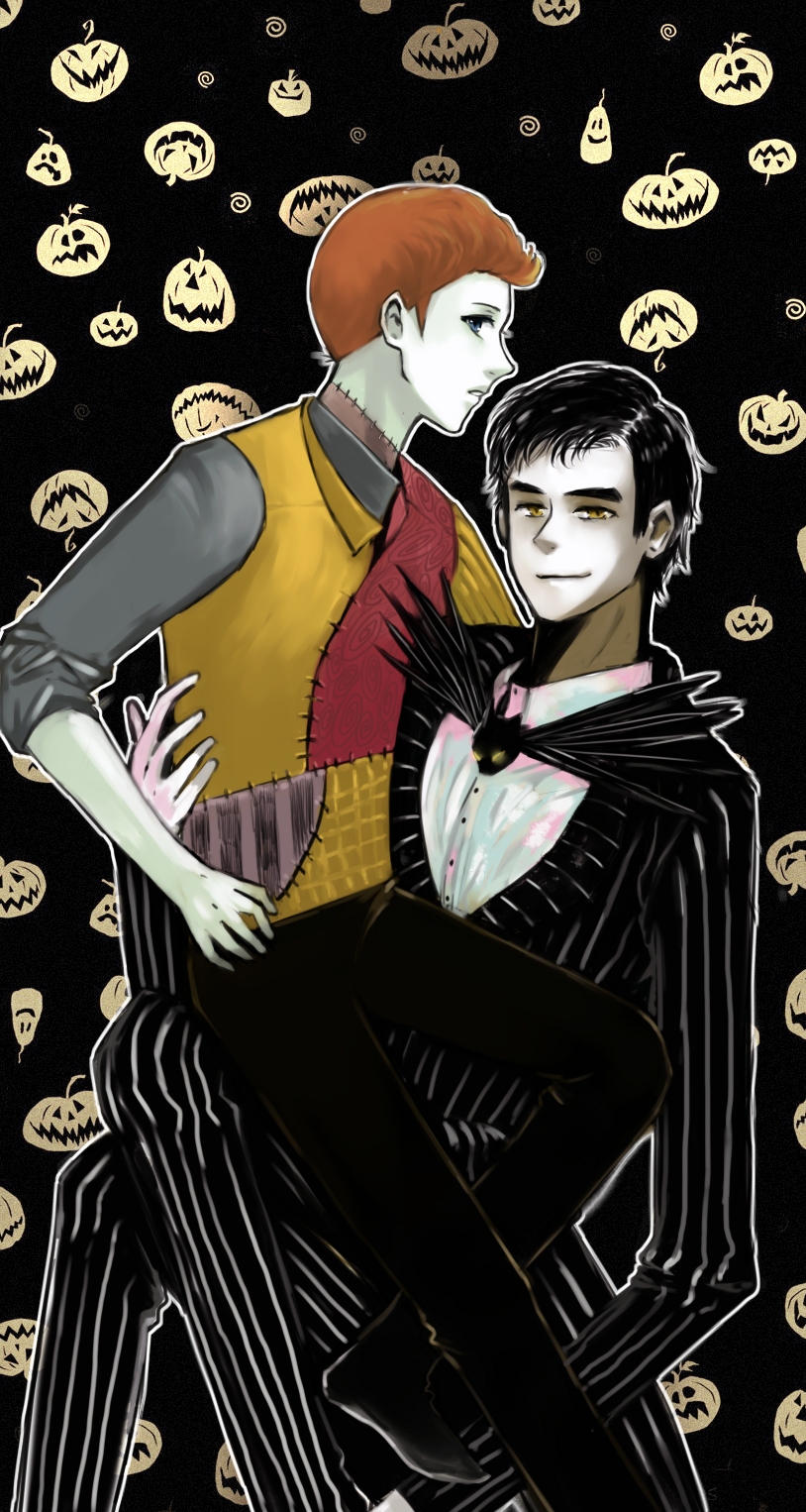 Klaine  The Nightmare Before Christmas by Jackclamp