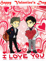Happy Valentine's Day by Jackclamp