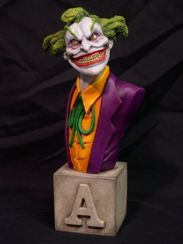 """Joker"" Arkham Asylum Series by Blairsculpture"