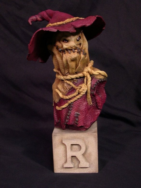 """Scarecrow"" Arkham Asylum by Blairsculpture"