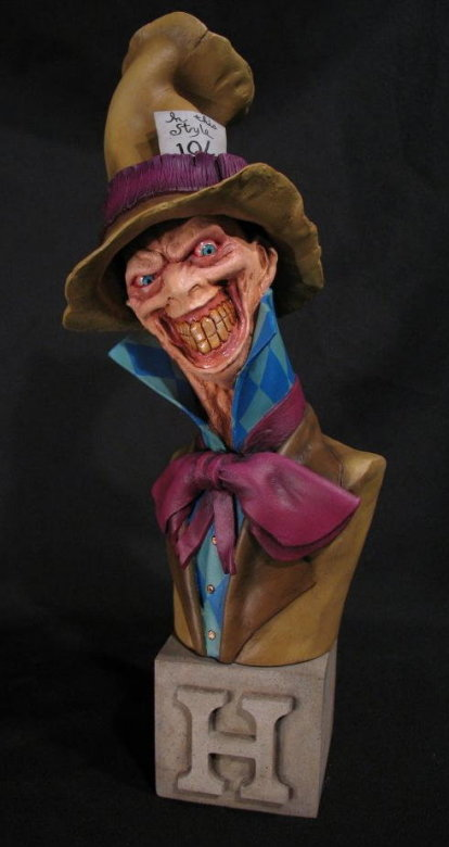 """Mad Hatter"" Arkham Asylum by Blairsculpture"