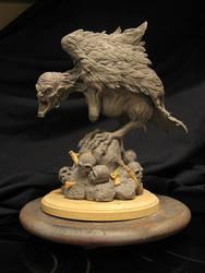 Harpy WIP by Blairsculpture