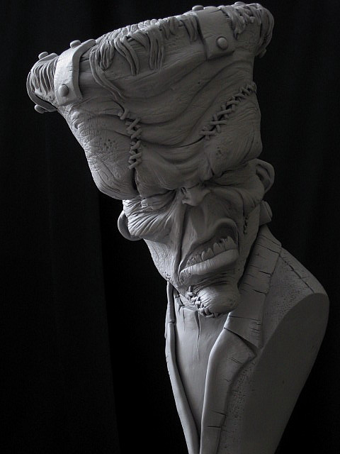 Big Top Franky Close up by Blairsculpture