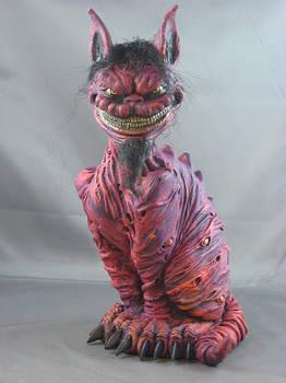 Cheshire Cat Painted