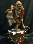 The Anti-Claus Painted by Blairsculpture