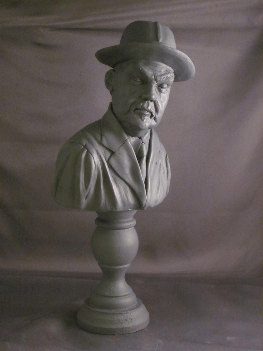 Charlie Chan ' Sydney Toler ' by Blairsculpture
