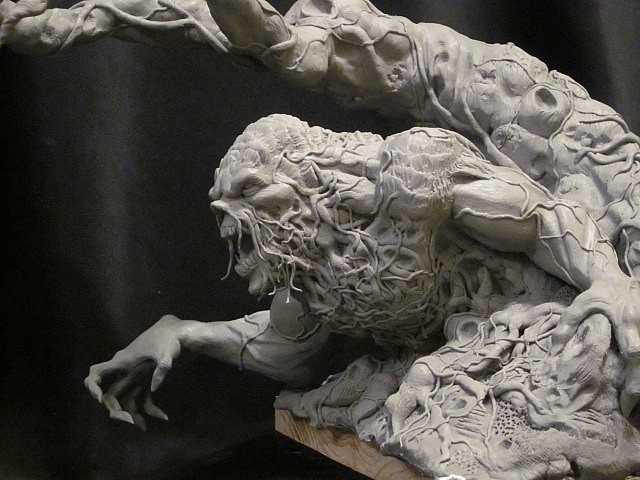 Wrightson Swamp Thing UPDATE 4 by Blairsculpture