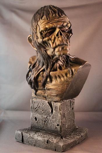 Wrightson Frankenstein Bust by Blairsculpture