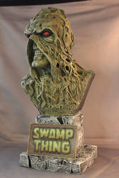 Swamp Thing Bust Finished!