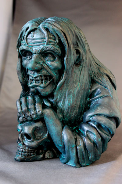 Jack Davis The Cryptkeeper by Blairsculpture