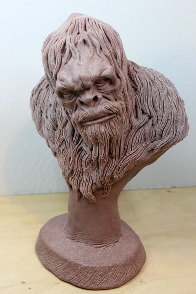 Squatch WIP 3 by Blairsculpture