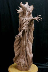 Dracula-wip-3 by Blairsculpture