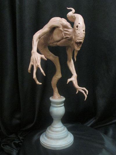 Ghost-WIP-1 by Blairsculpture