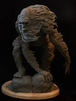 Abominable Snowman WIP by Blairsculpture