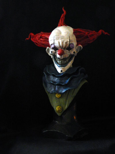 Evil-clown-bust-finished-1 by Blairsculpture