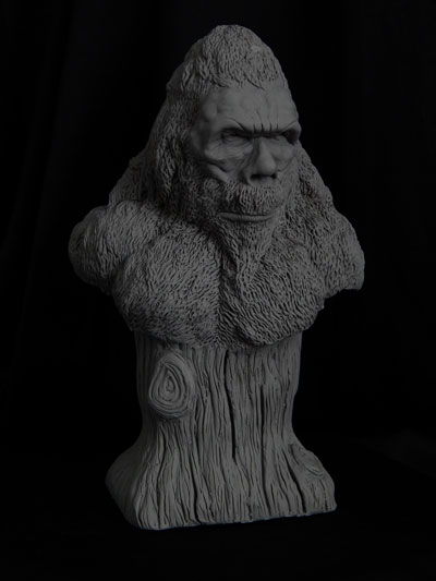 Bigfoot-bust-2 by Blairsculpture