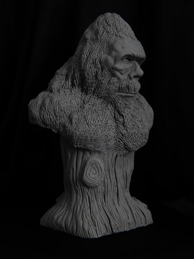 Bigfoot-bust-3 by Blairsculpture