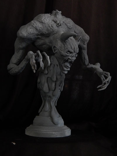 Creature-2 by Blairsculpture