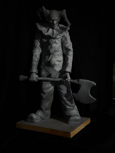 Evil-clown-primed-3 by Blairsculpture