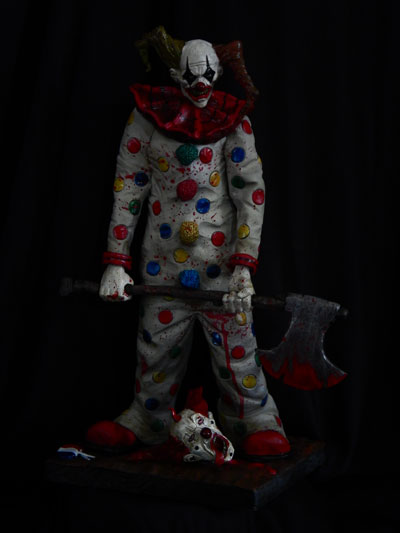Evil-Clown-Finished by Blairsculpture