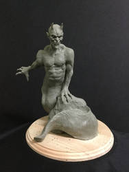 The Worm Conquer by Blairsculpture