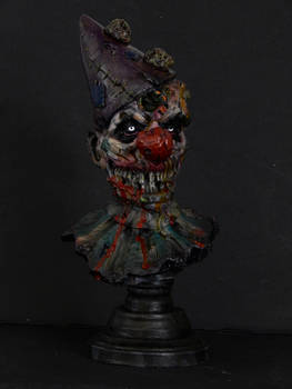 Zombie Clown painted