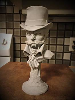 Victorian Vampire bust