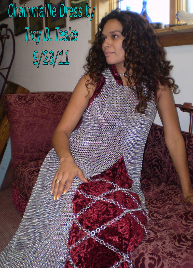 Chainmail Gown by Tezcatlipoca29