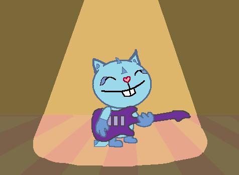 Sammy play guitar by zayox2