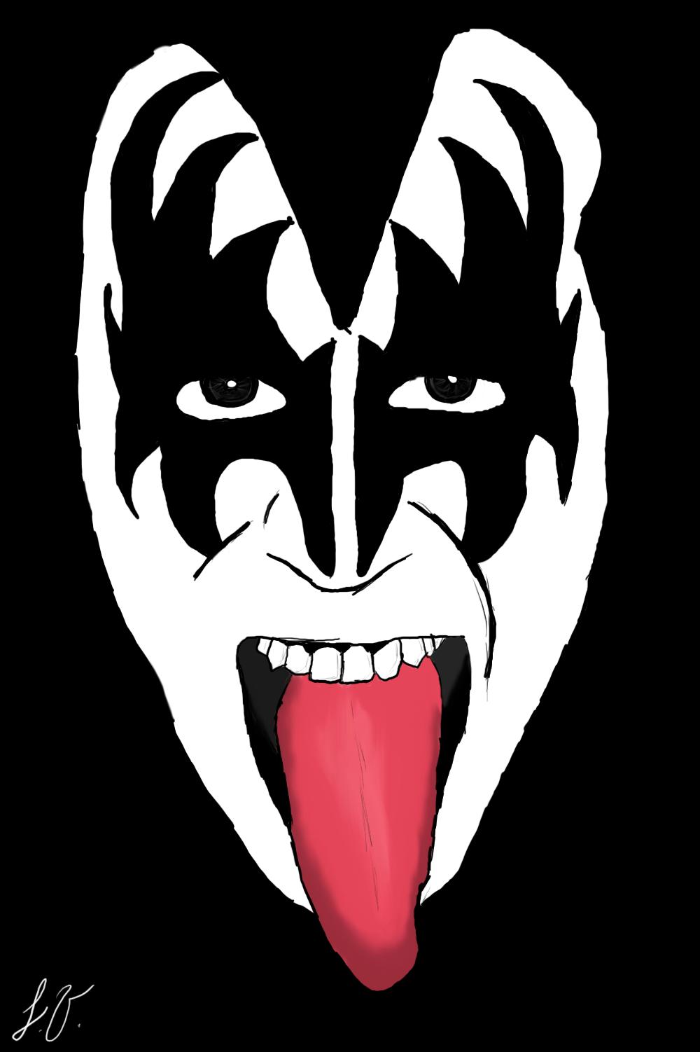 Gene Simmons By Johnnydavila On Deviantart