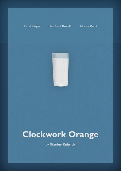 Clockwork Orange Poster by dotacy