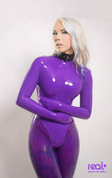Purple Tightness III by PatrickRichter